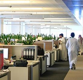 بيئة العمل في  إعمارالمدينة الاقتصادية  - مدينة الملك عبدالله الاقتصادية
