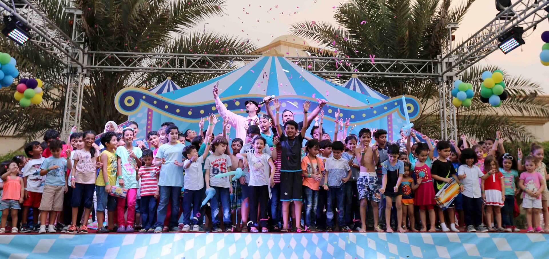 بيلسان ويكيند - فعالية للأطفال والعائلة في مدينة الملك عبد الله الاقتصادية