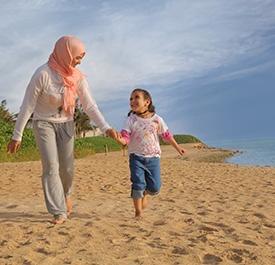 واجهة شاطئ مروج - مدينة الملك عبد الله الاقتصادية