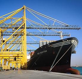 ميناء الملك عبدالله - مدينة الملك عبد الله الاقتصادية
