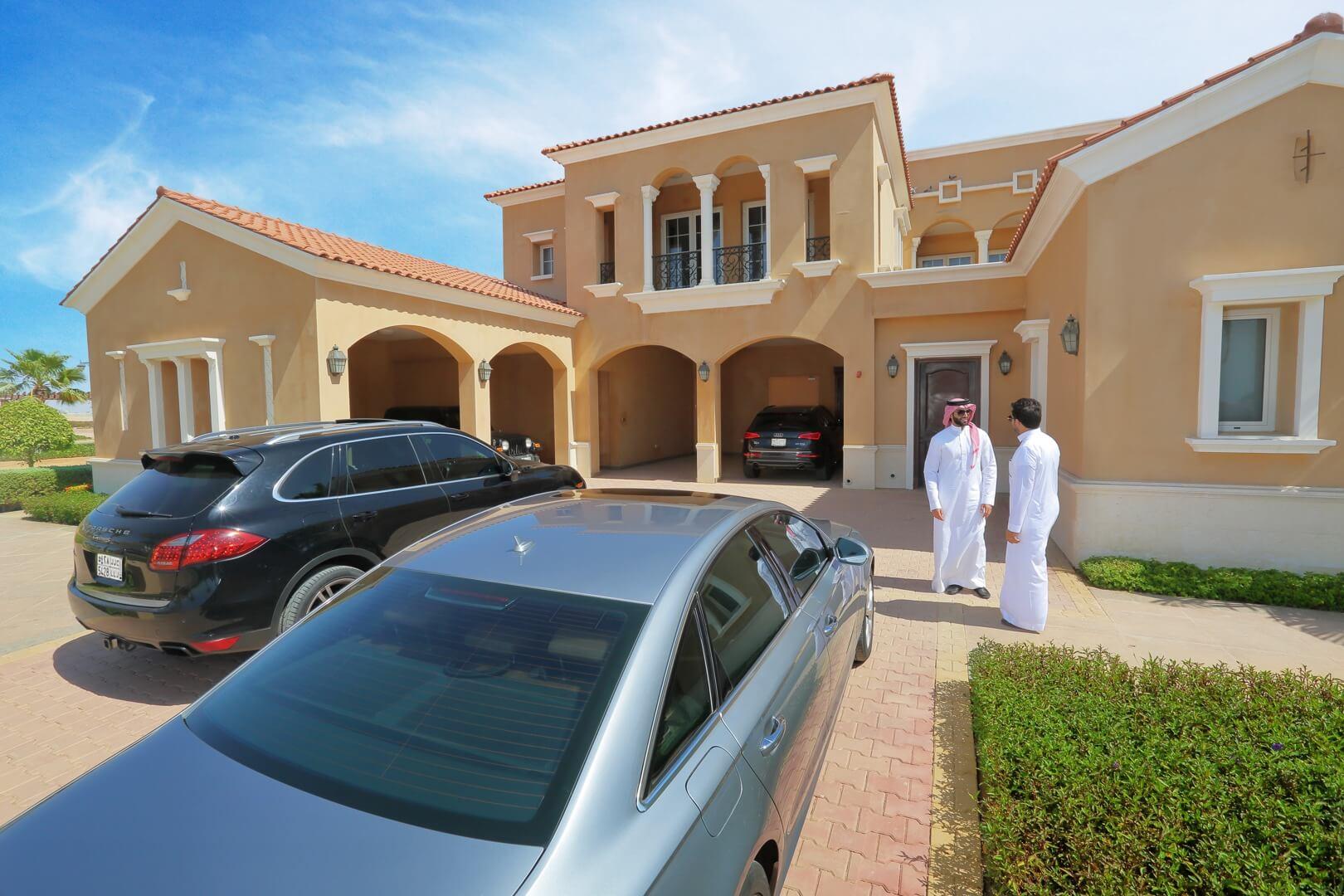 Al Murooj villa exterior - KAEC