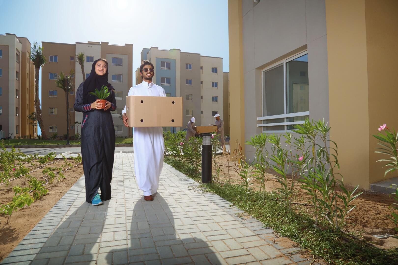 Al Shurooq apartments exterior - KAEC