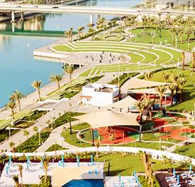حديقة جمان مدينة الملك عبد الله الاقتصادية - مدينة بمواصفات عالمية - ح