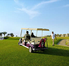 ملعب الغولف فى بحي المروج - رويال غرينز