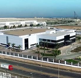 مصنع فايزر في الوادي الصناعي - مدينة الملك عبد الله الاقتصادية