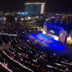 Misk show at Juman Park amphitheater in KAEC