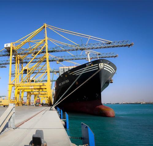 ميناء الملك عبدالله في مدينة الملك عبد الله الاقتصادية