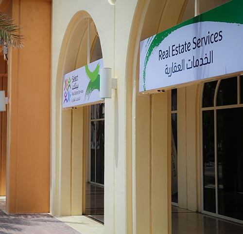 Select real estate services, consultancy, investment, leasing, sales kaec