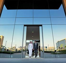 بوابة الدخول مبني إعمار المدينة الاقتصادية - مدينة الملك عبد الله الاقتصادية