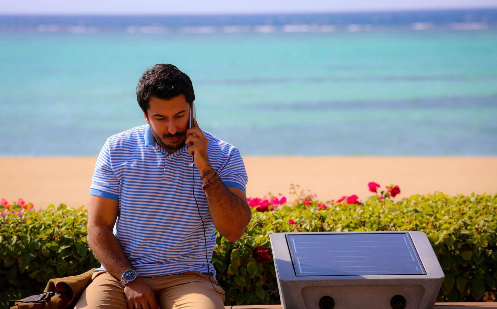 شاطئ البيلسان  - مدينة الملك عبد الله الاقتصادية