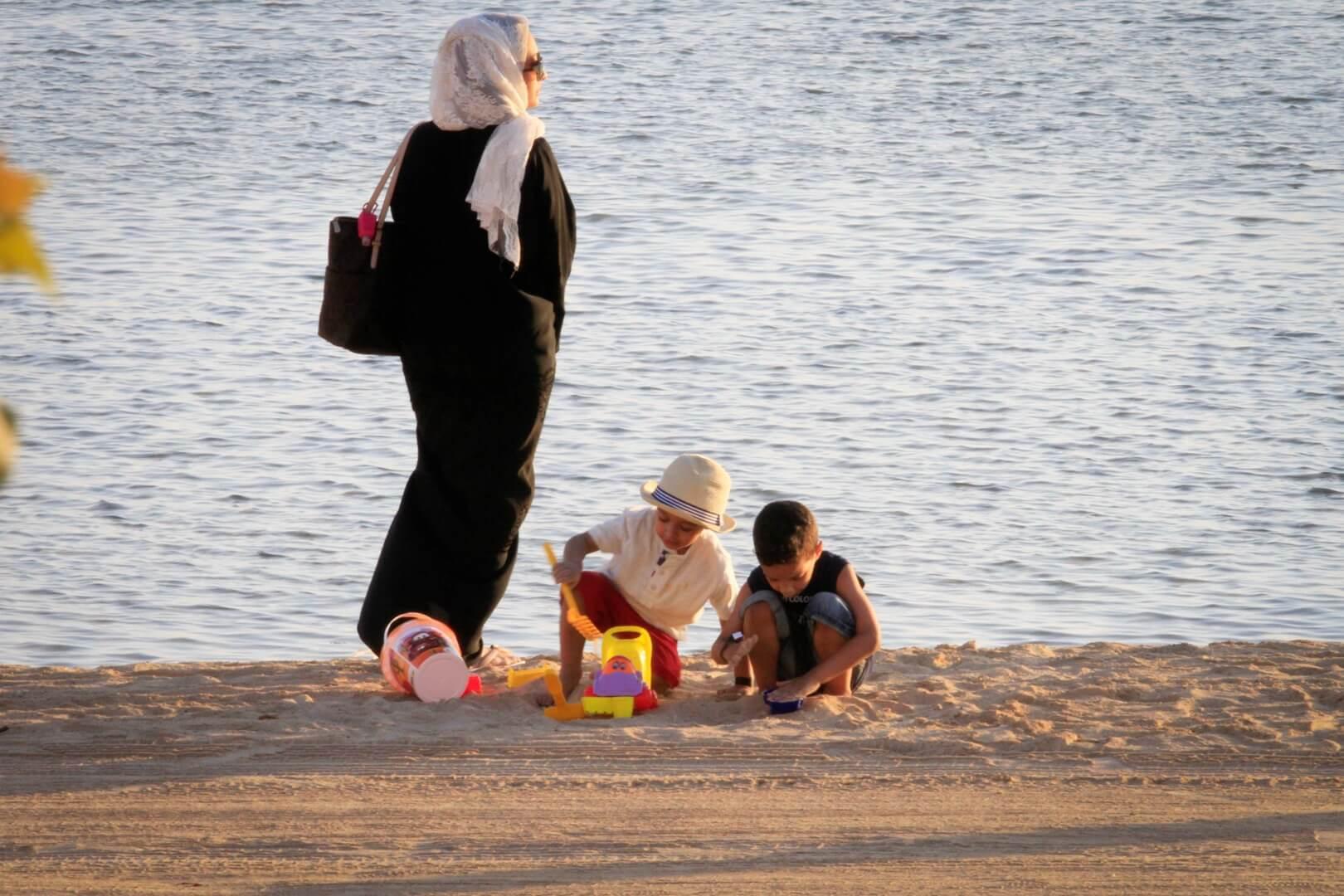 شاطئ بيلسان - مدينة الملك عبد الله الاقتصادية