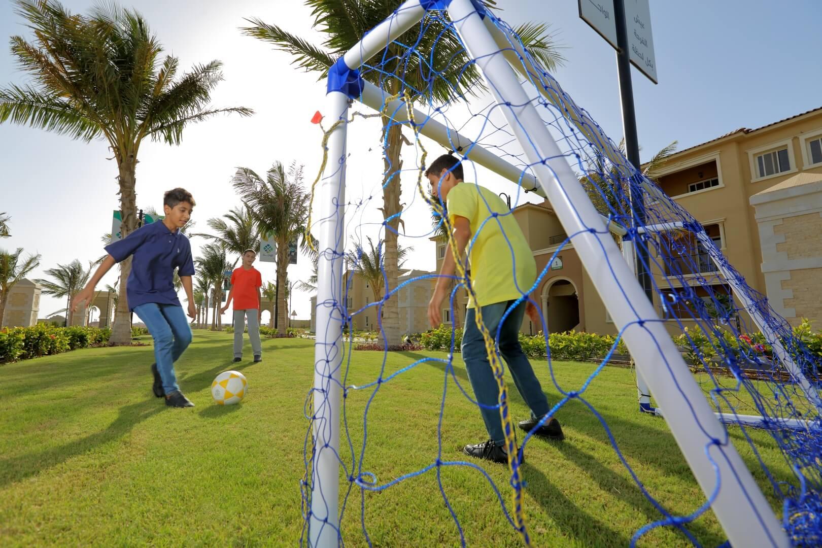 مركز مجتمع الواحة - مدينة الملك عبد الله الاقتصادية