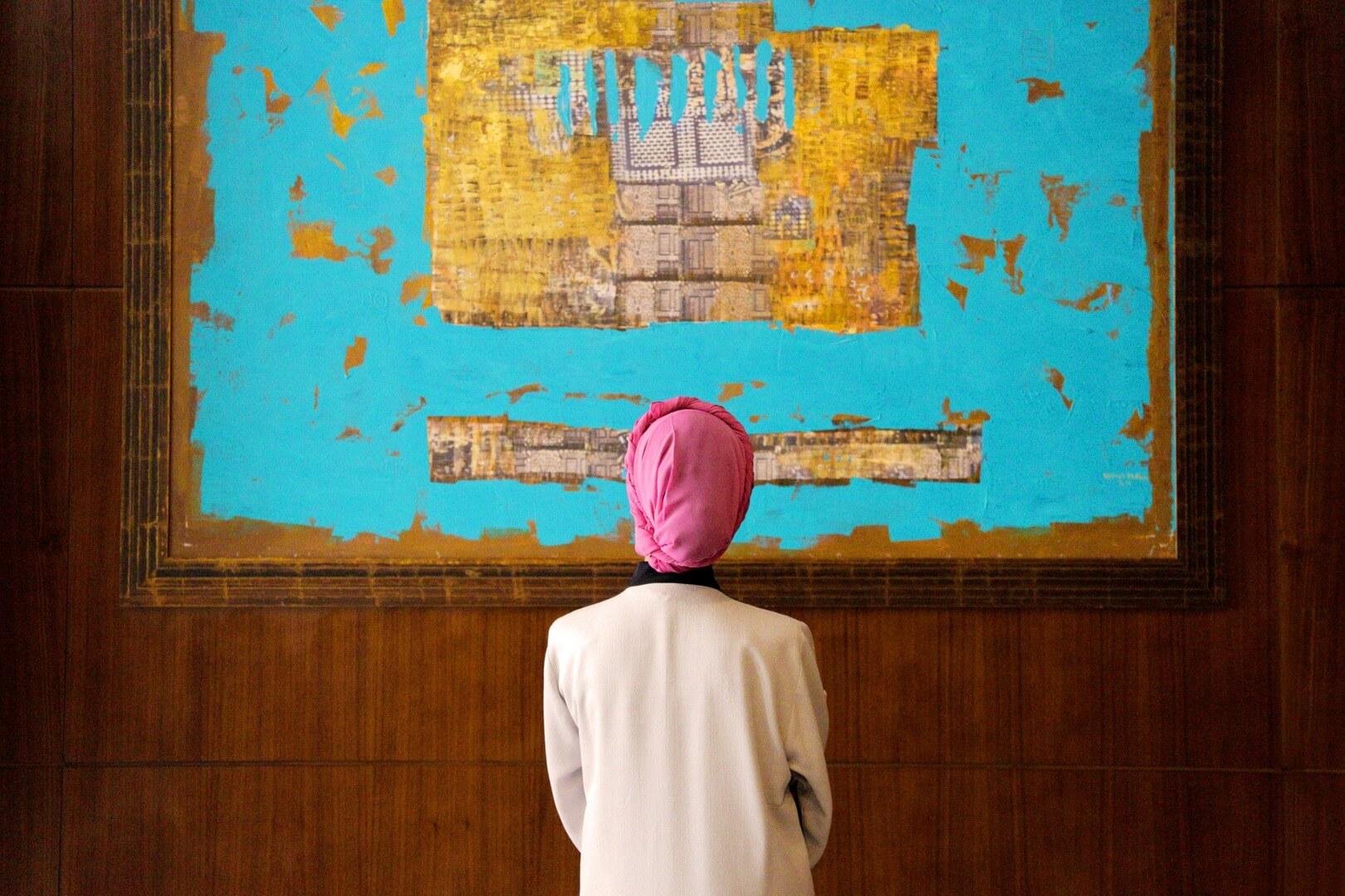 معرض فنون بيلسان  - مدينة الملك عبد الله الاقتصادية