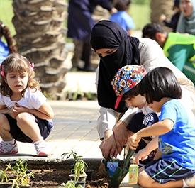 فعالية أطفال - مدينة الملك عبد الله الاقتصادية