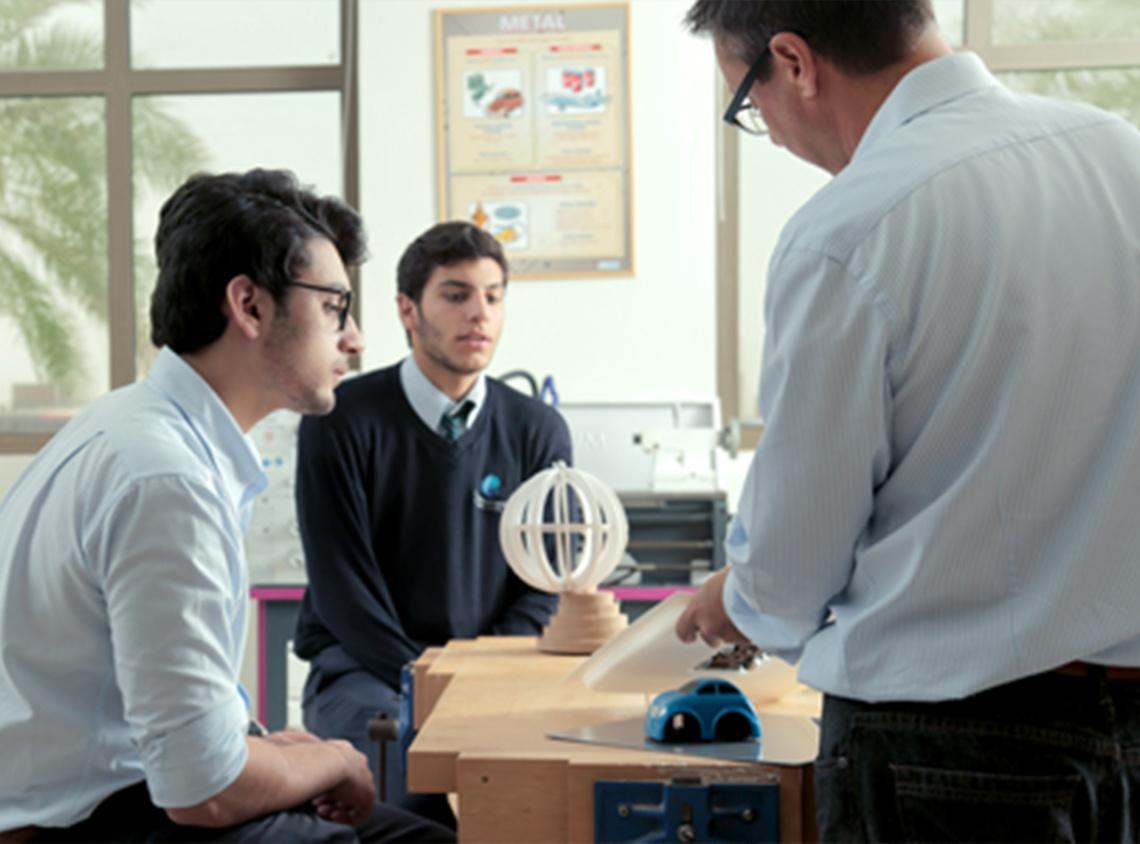 مختبر العلوم بأكاديمية العالم - مدينة الملك عبد الله الاقتصادية
