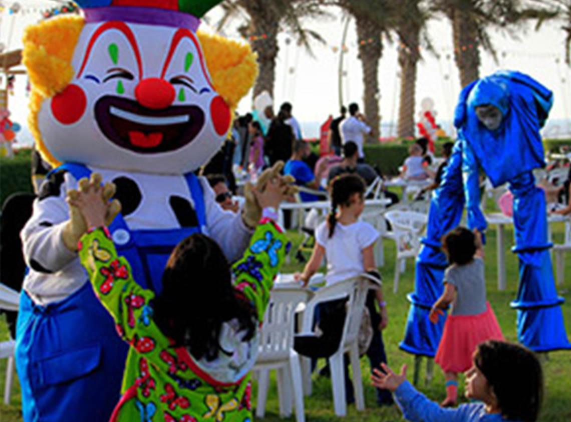 أنشطة ترفيهية للأطفال  والعائلة في مدينة الملك عبد الله الاقتصادية
