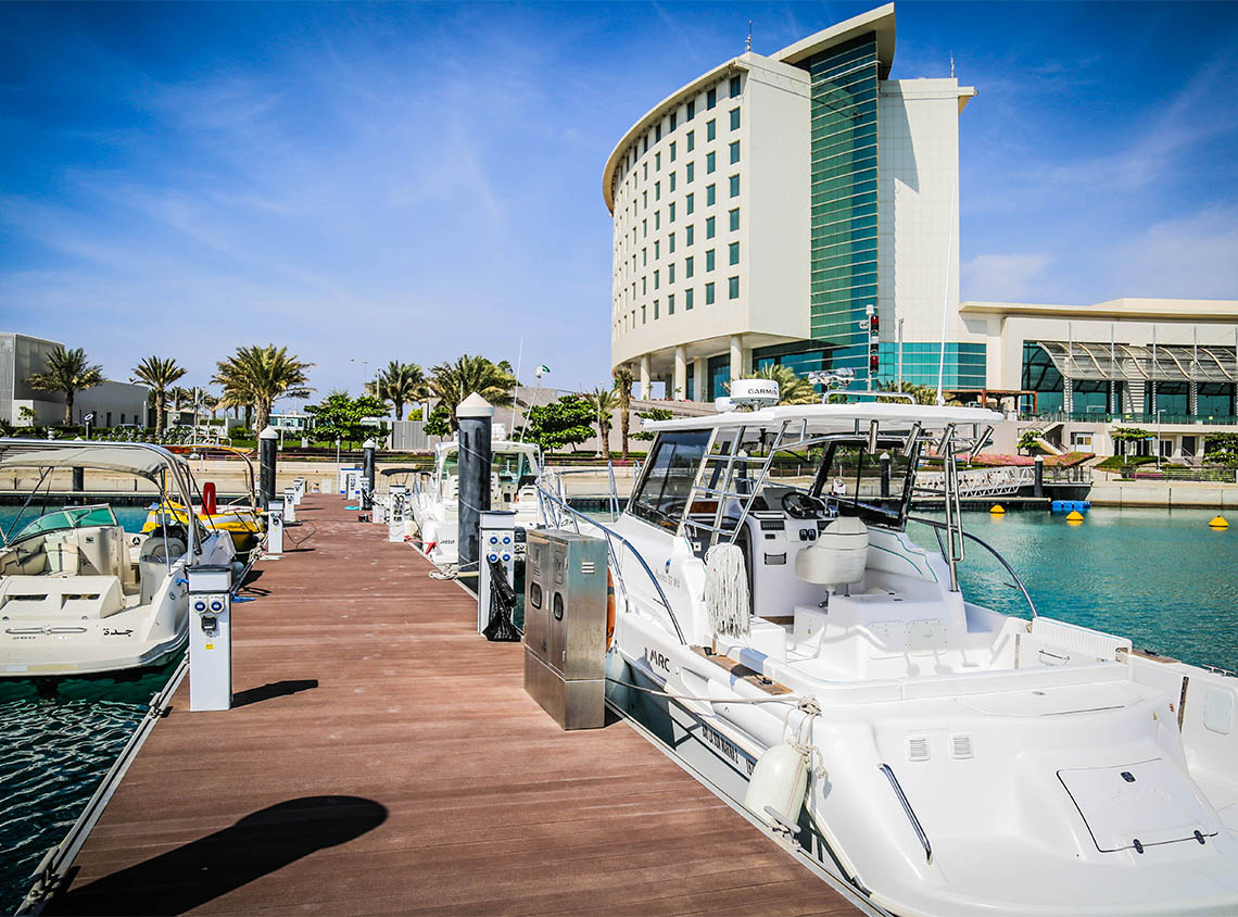 Bay La Sun Hotel and Marina front side - KAEC