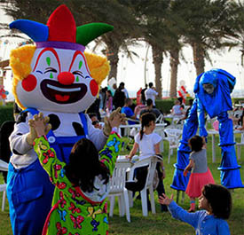 Leisure activities for Kids and families - KAEC