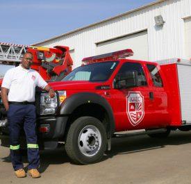 KAEC Fire Truck