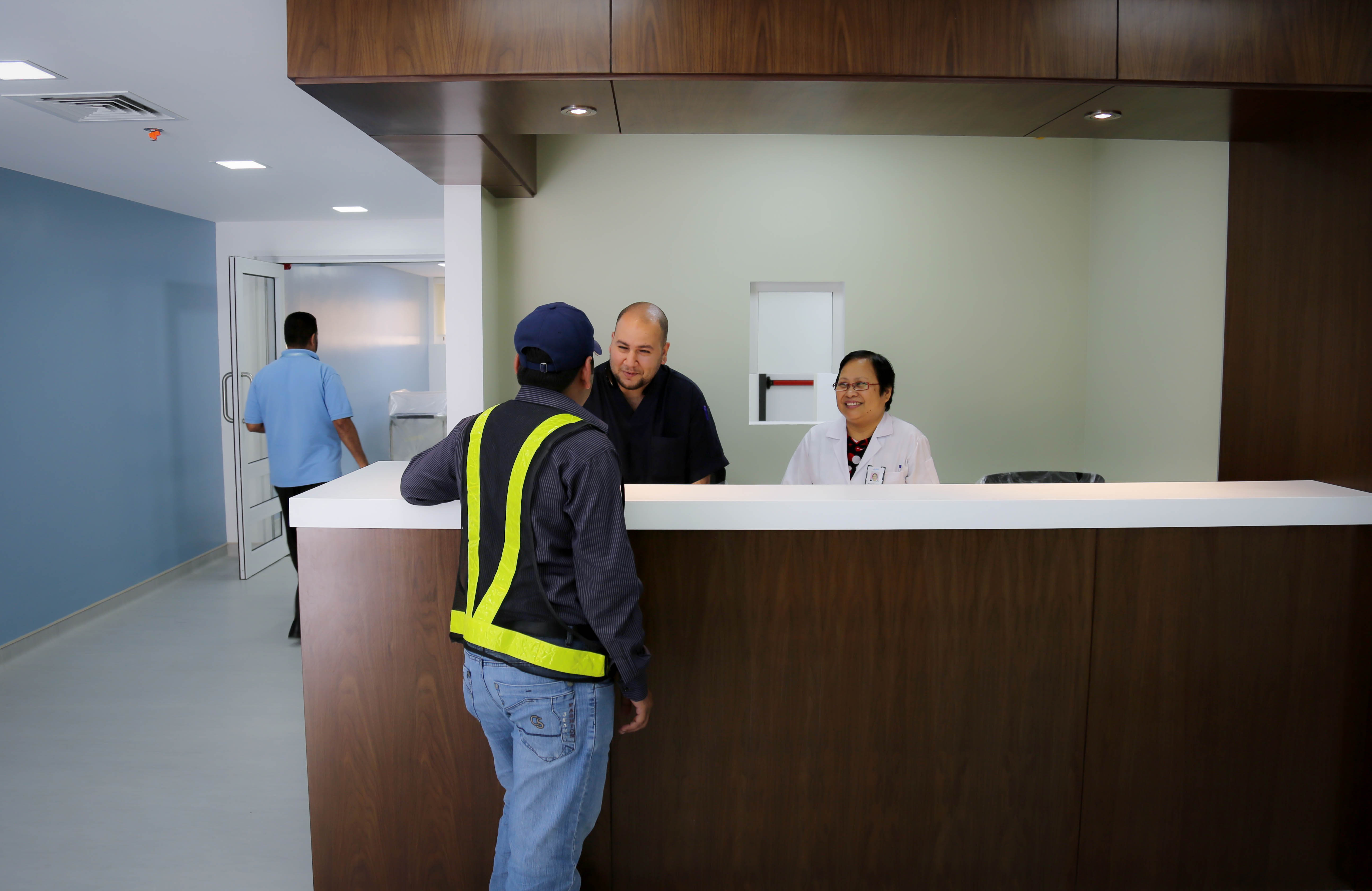 KAEC IV Clinic Reception