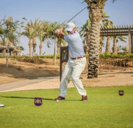 Player at Royal Greens Golf Club